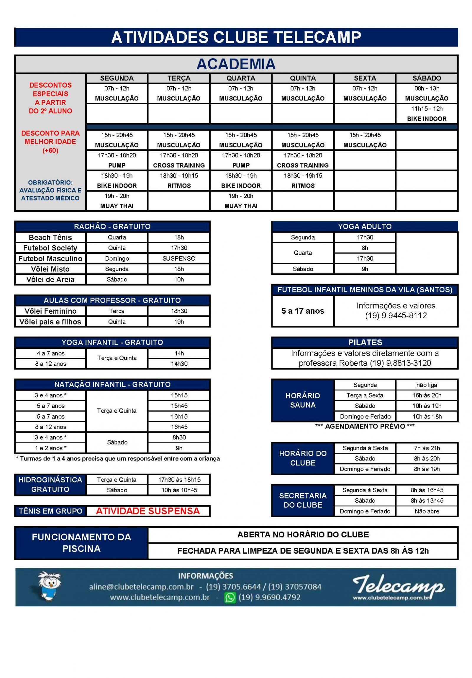 Atividades Esportivas Telecamp - 2021-09-23